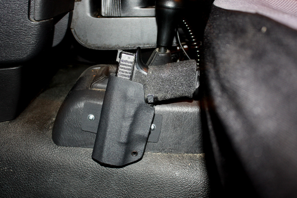 Protective Services Longest Haul Vehicle Mounted Holster