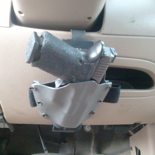 """Protective Services """"Longest Haul"""" Vehicle Mounted Holster (hardpoint)"""